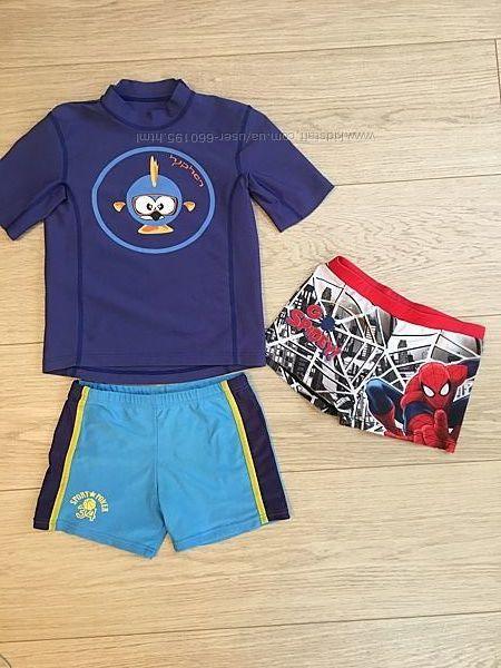 Плавки футболка для купания Marvel, Beach 110-116