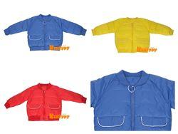 Куртка бомбер для мальчика детская 3 цвета