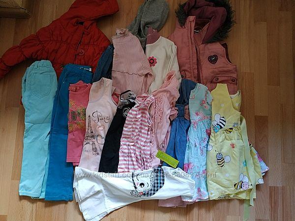 Пакет вещей для девочки 3-6лет