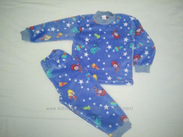 Пижама флисовая  комбинезон , пижама махровая