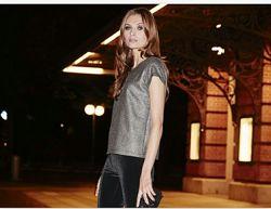 Блуза с серебряным блеском esmara
