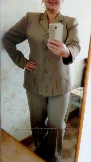 Женский деловой костюм 54 размер доставка