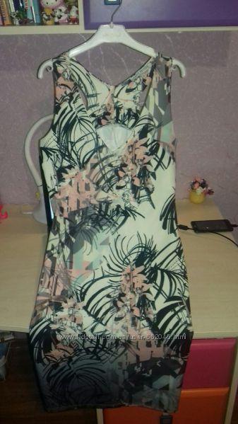 Облегающее платье с цветочным рисунком next.