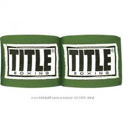 Бинты TITLE JUNIOR 120 MEXICAN STYLE HAND WRAPS Green