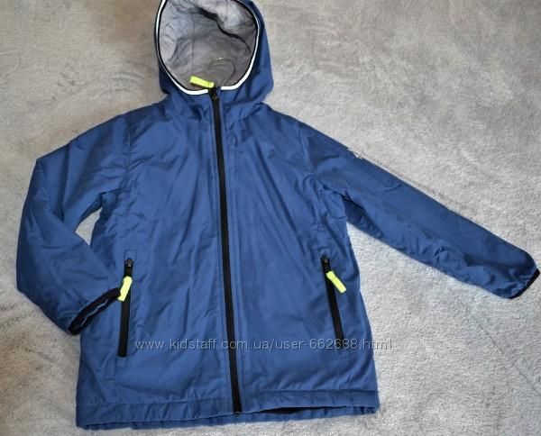 Демисезонная удлиненная курточка OVS на 5-6 лет рост 116-122