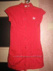 платье на кнопках OSTIN на 5-6 лет