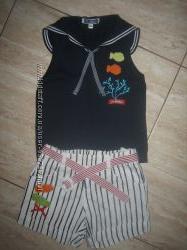 фирменный костюмчик Морячка ovo babies на 2 года