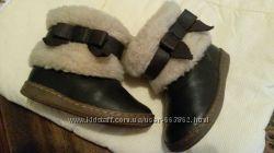 Зимние сапожки ботиночки zara