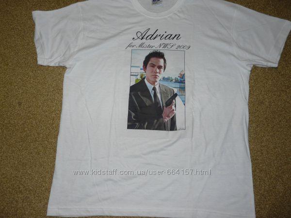 футболка мужская хлопок новая S, L