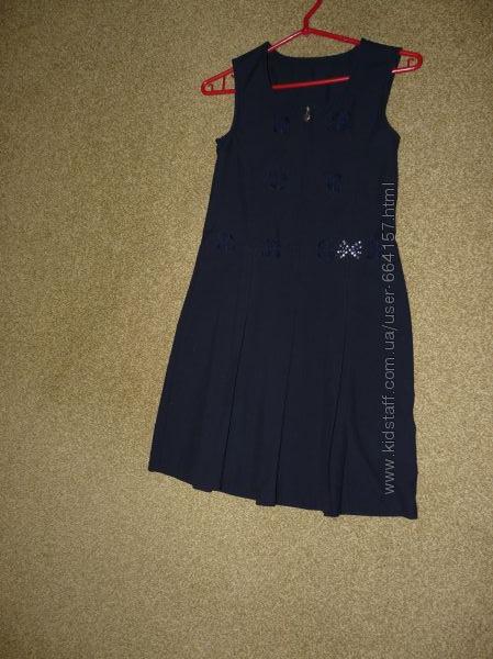 платье, форма школьная для девочки на 9-10 лет