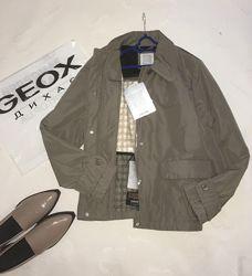 Geox respira куртка эко пух  в бежевом цвете