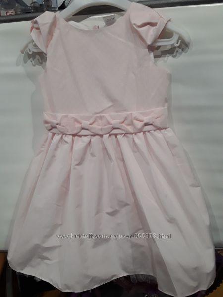 Нарядное платье рост  116, 122, 128 хлопок гарден беби