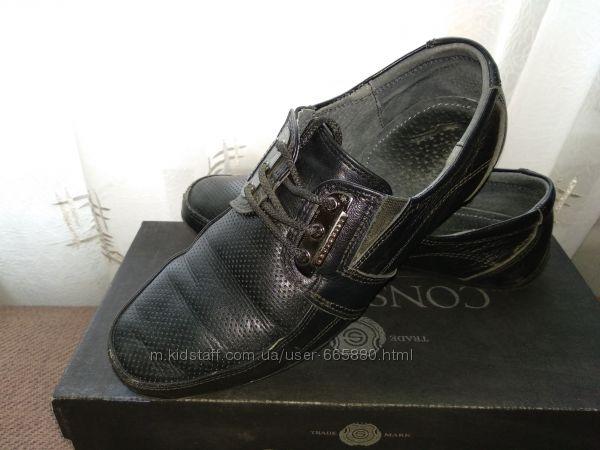 Туфли школьные, кожа р. 34 35