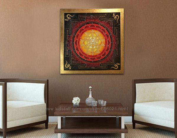 Энергетическая картина Шри Янтра
