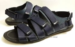 кожаные сандалии Nike S-5 синие