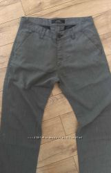 Серые брюки меланжевые  в идеале с косыми карманами по суперцене.