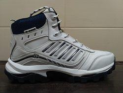 Белые зимние мужские кроссовки ТМ Bona
