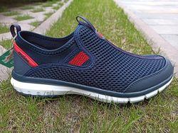 Мужские кроссовки - мокасины больших размеров 46-48 р ТМ Restime 20820