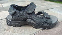 Мужские кожаные сандали ТМ Restime  nml20111