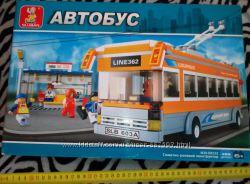 Конструктор автобус 465 деталей