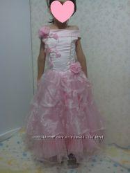 Прокат нежного платья на девочку 7-9 лет