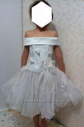 Прокат платья снежинки на утреник в садик
