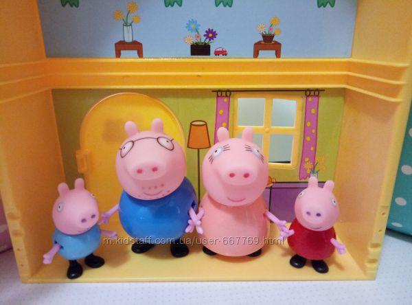 Свинка пеппа семья и друзья