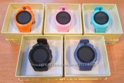 Акция на умные часы телефон с gps Smart  Watch q360 с камерой, фонариком