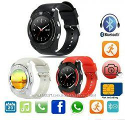 Подростковые умные часы телефон Smart Watch V8