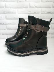 Зимние ботинки девочке р 27-32