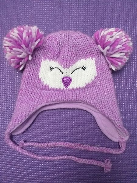 Зимняя шапка Children&acutes place, 6-12мес, бу