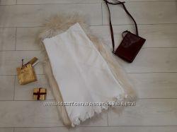 катоновая белая юбка Италия