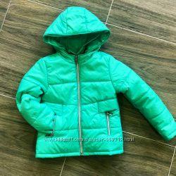 Куртка детская на синтепоне мятная