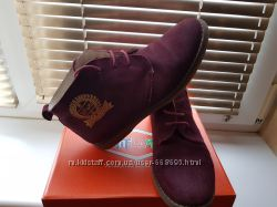 Замшевые ботинки