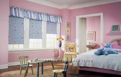 Рулонные шторы с детской тематикой