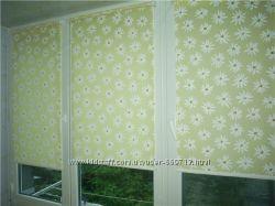 Романтичные рулонные шторы