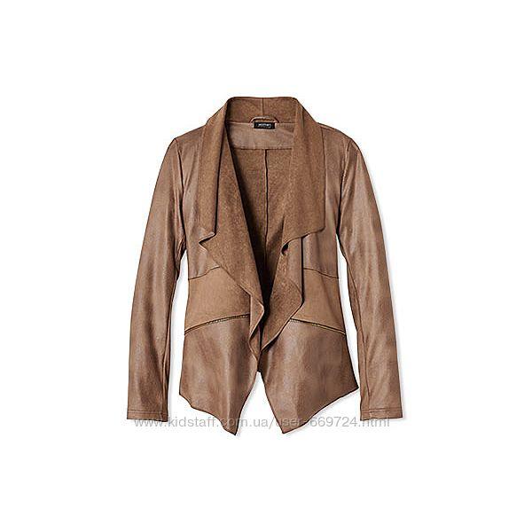 Модная куртка из велюровой замши р. м-l от ТСМ Tchibo Германия