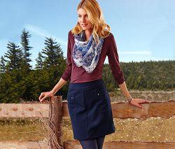 Модная юбка трапеция Woman р. 42-44 от ТСМ Tchibo Германия