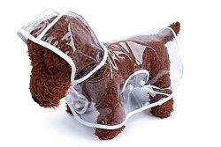 Дождевик для Собак Одежда для собак