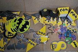 Декор на праздник LEGO Batman