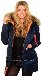 Жіноча куртка аляска N-3B W Alpha Industries, оригінал