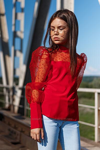 Красивая блуза разные расцветки