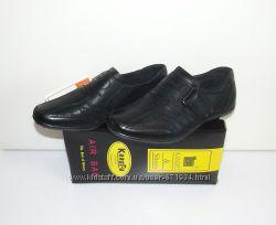 Школьные туфли  Кожа Натуральная 32-36 мальчик