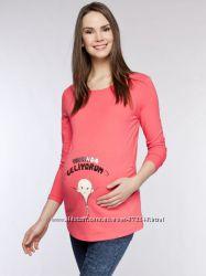 Тематические кофточки и футболки для беременных, размер L