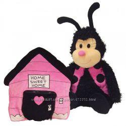 Мягкая игрушка - подушка Божья Коровка  Happy Nappers Ladybug