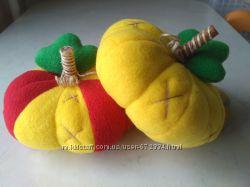 Мягкая игрушка Игрушечная еда Овощи Мягкая тыква Подарок