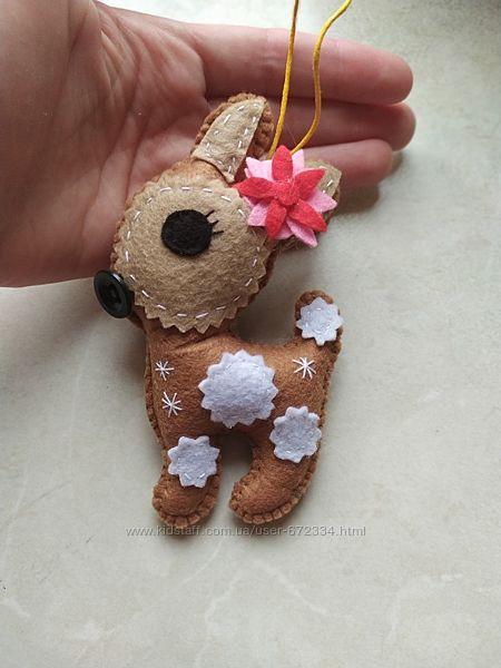 Новогодний декор Игрушки на ёлку подарки на рождество