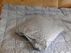 Пуховое одеяло, подушка