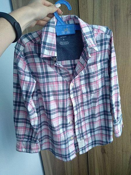 Красивая рубашечка на 4-5 года Carters