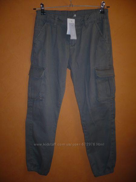 Новые брюки карго джоггеры для мальчика р. 140